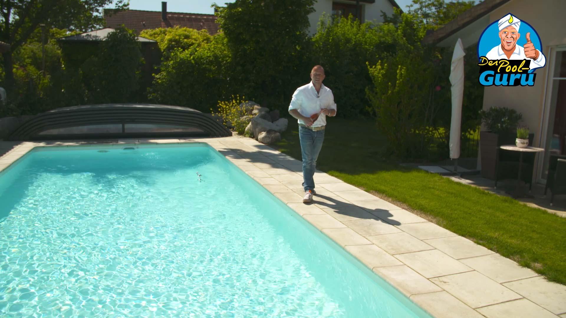 Poolbefüllung-Swimmingpool befüllen