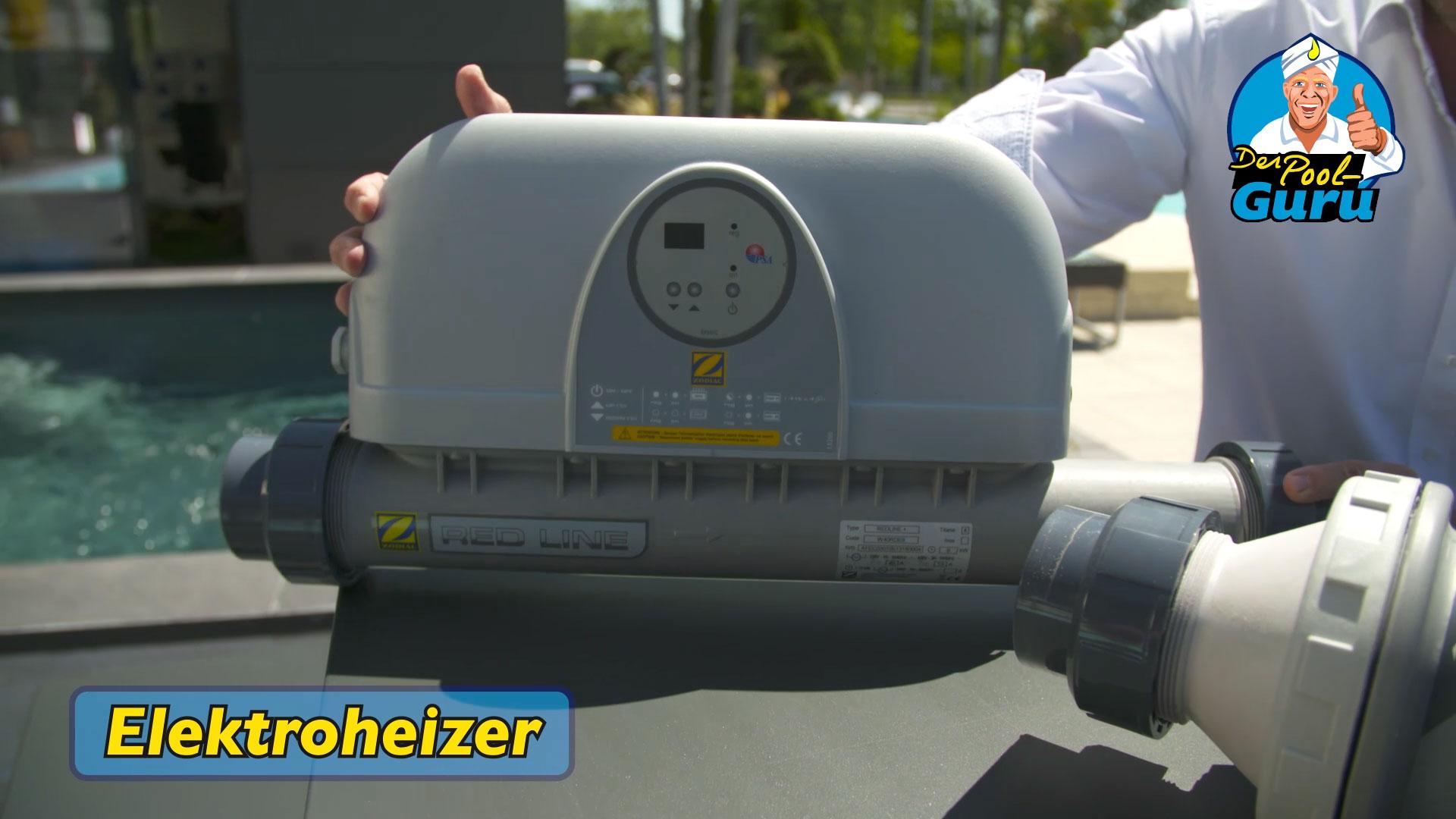 Poolheizung Elektroheizer