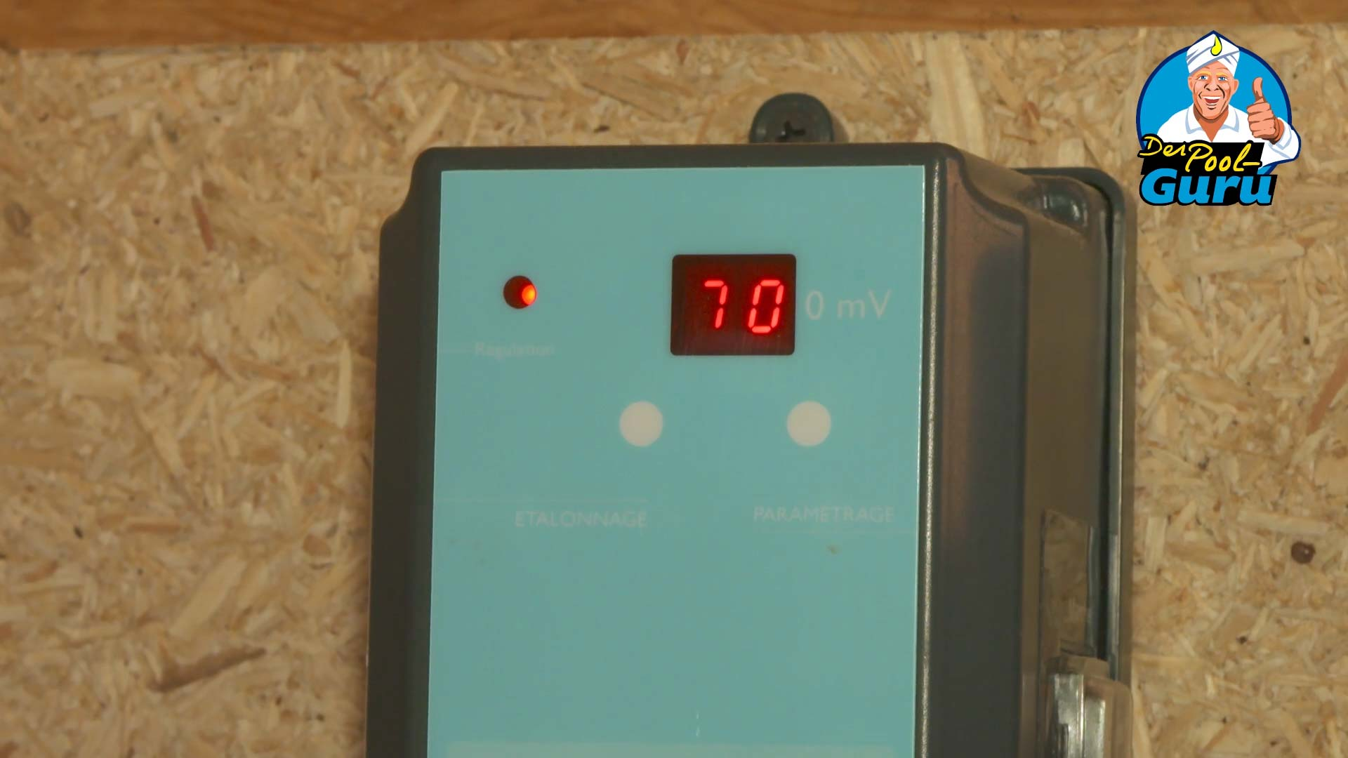 Redox Messgerät Chlorwert Poolwasser automatische Wasseraufbereitung