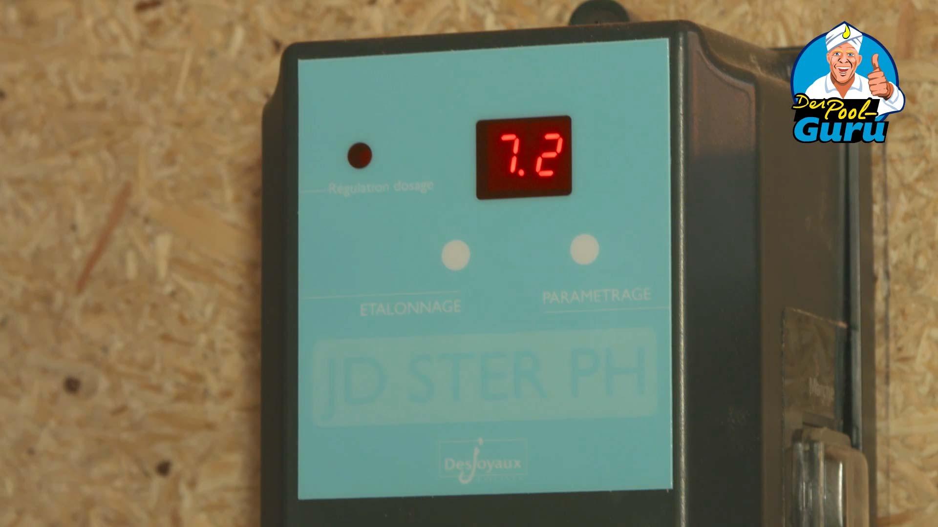 Swimmingpool PH-Wert Messung automatische Wasseraufbereitung