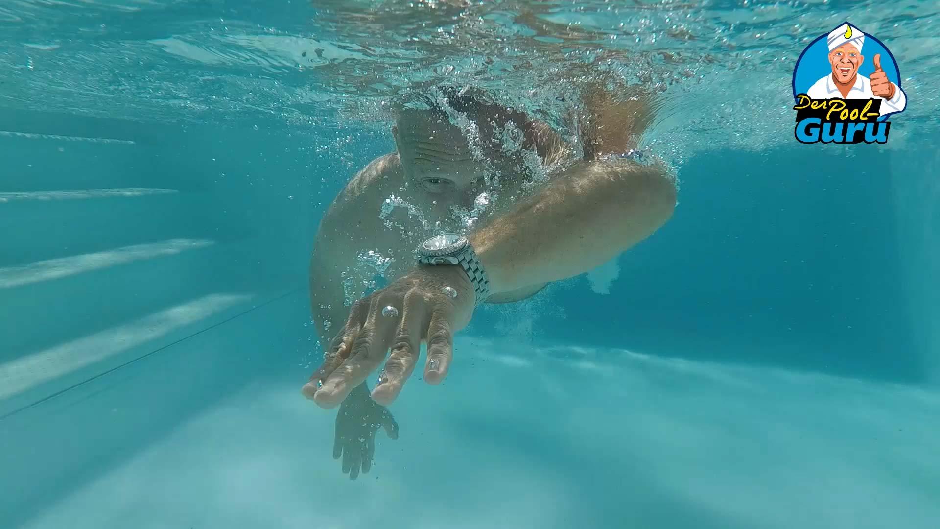Schwimmen Pool mit Gegenstromanlage Schwimmkanal