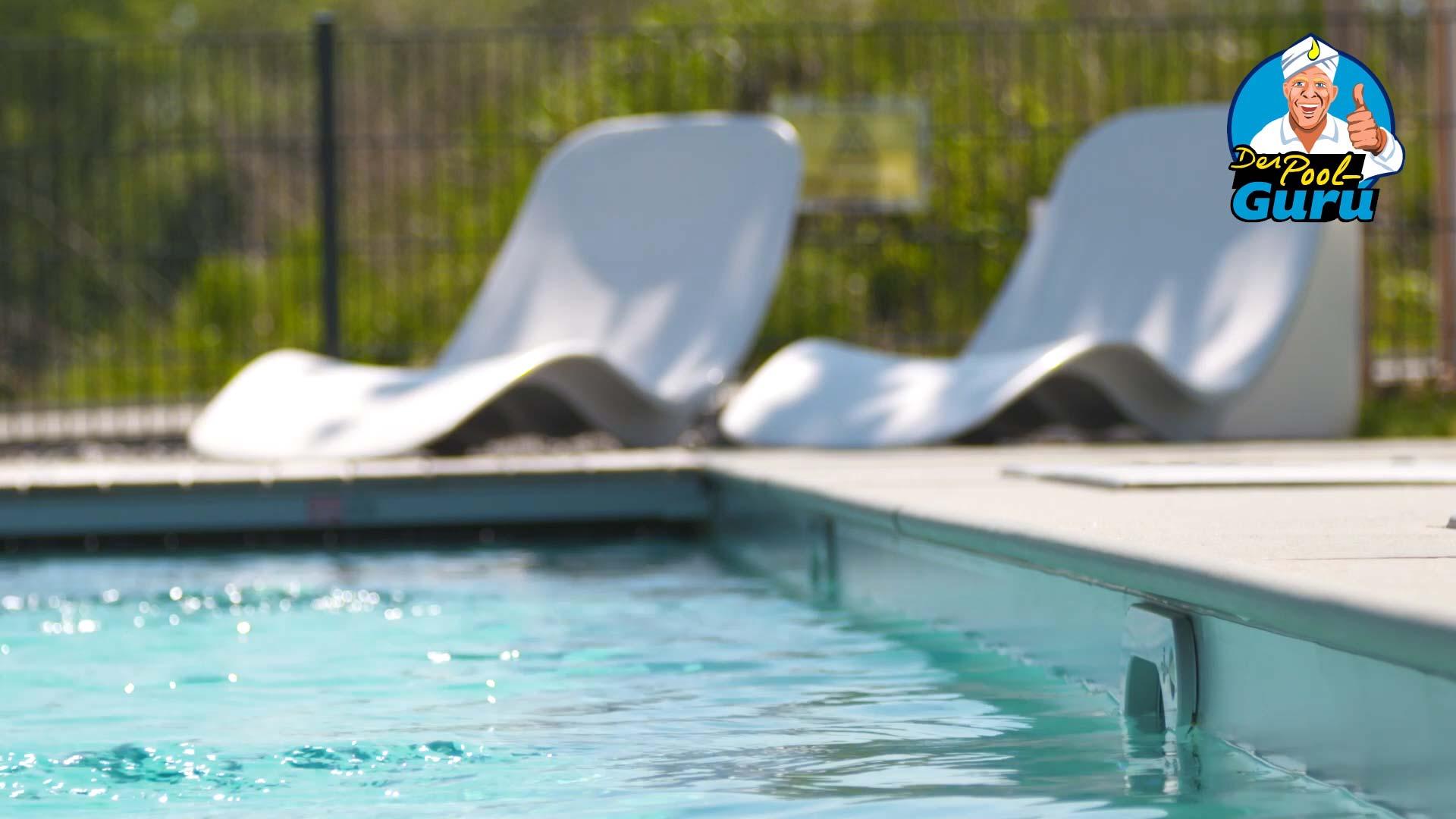 Poolwasser Filter