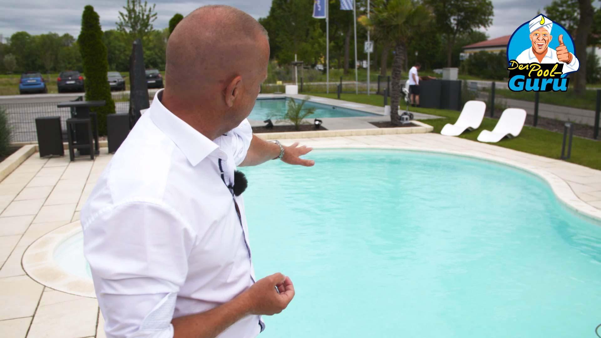 Verschalter Pool Beckenboden