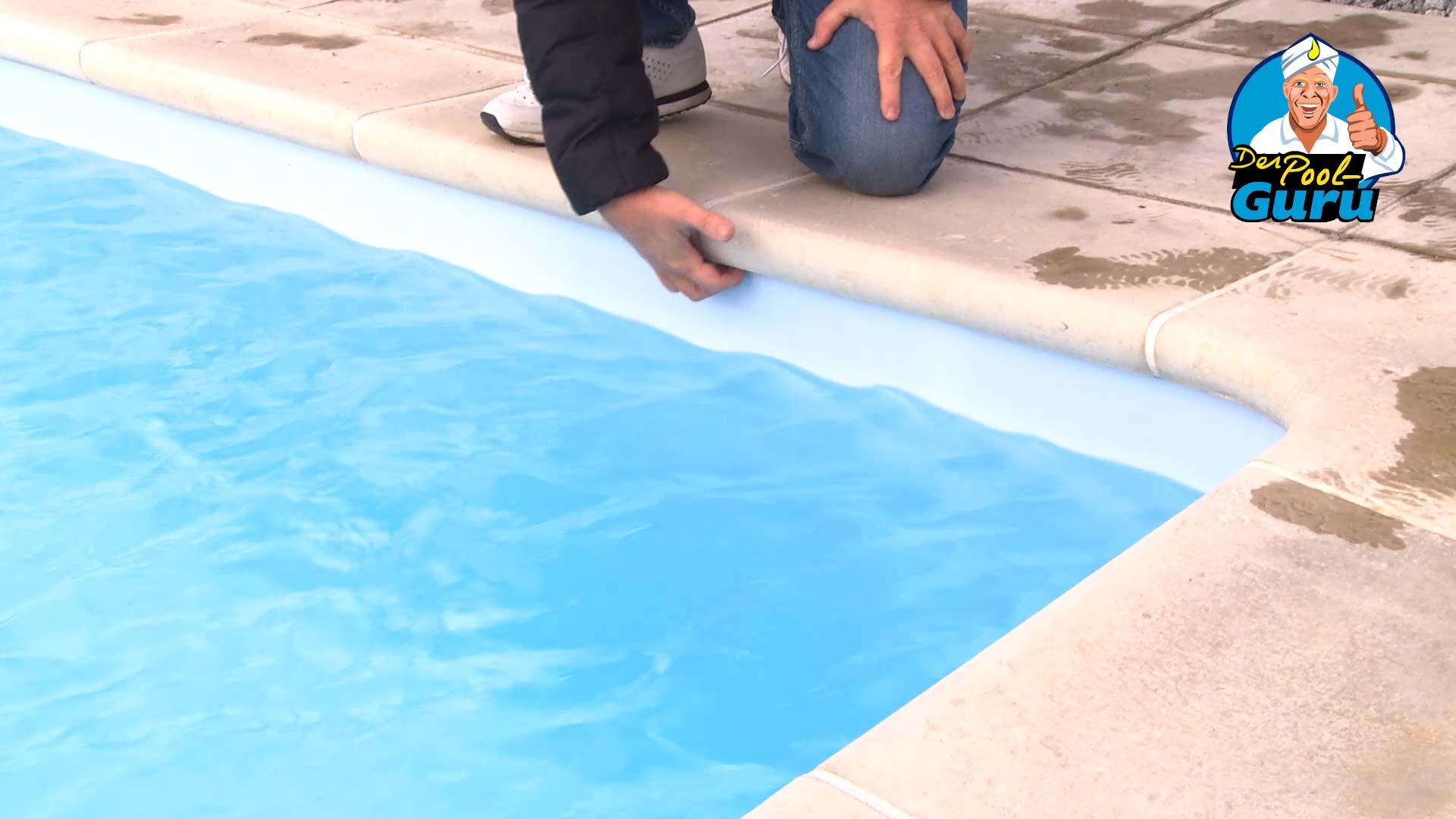 Poolwand schützen