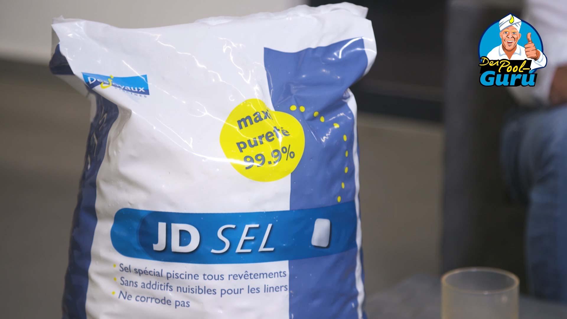 Pool Salzelektrolyse Natriumchlorid