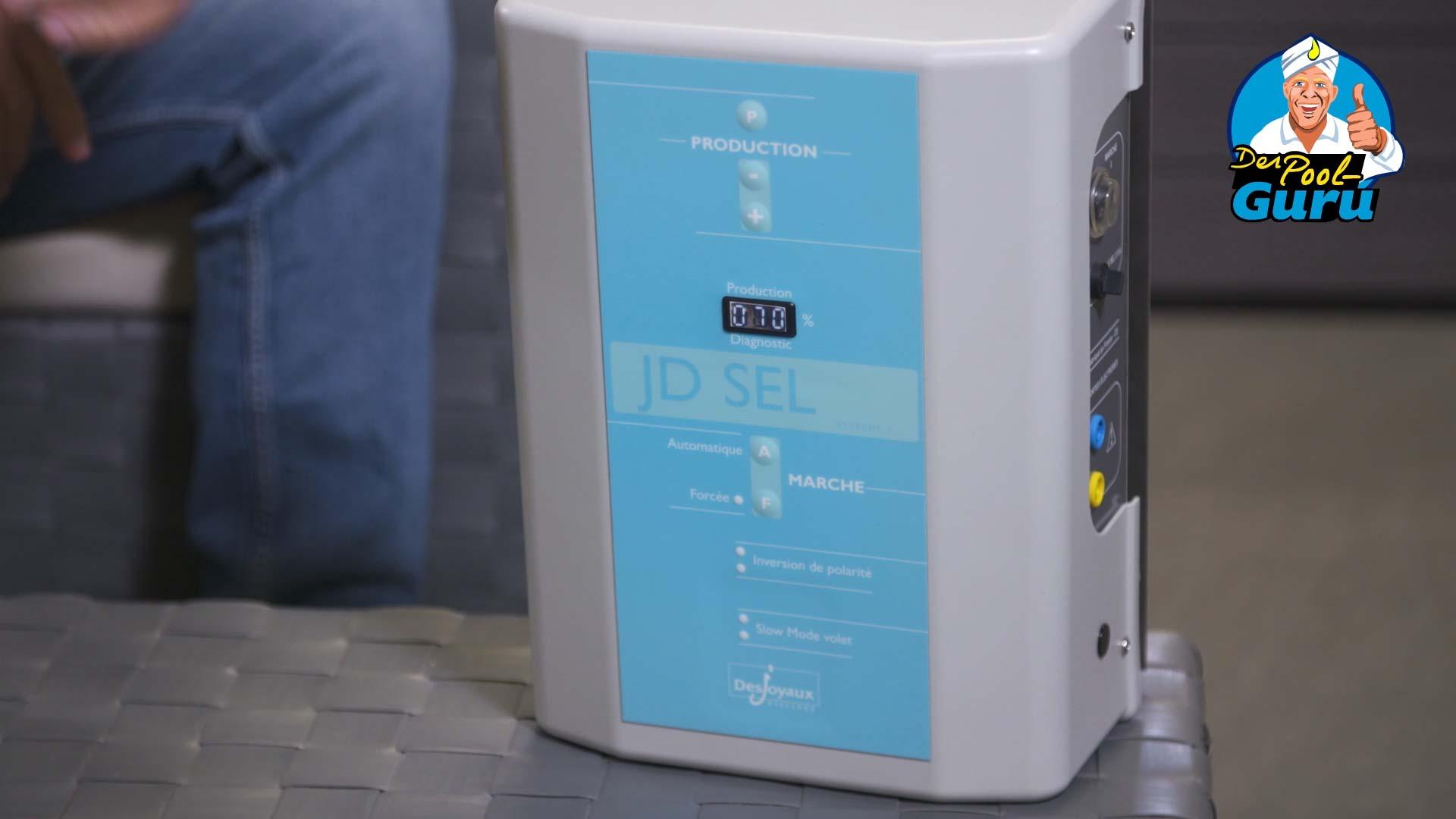 Salzpool Natriumhypochlorit Desinfektionsmittel