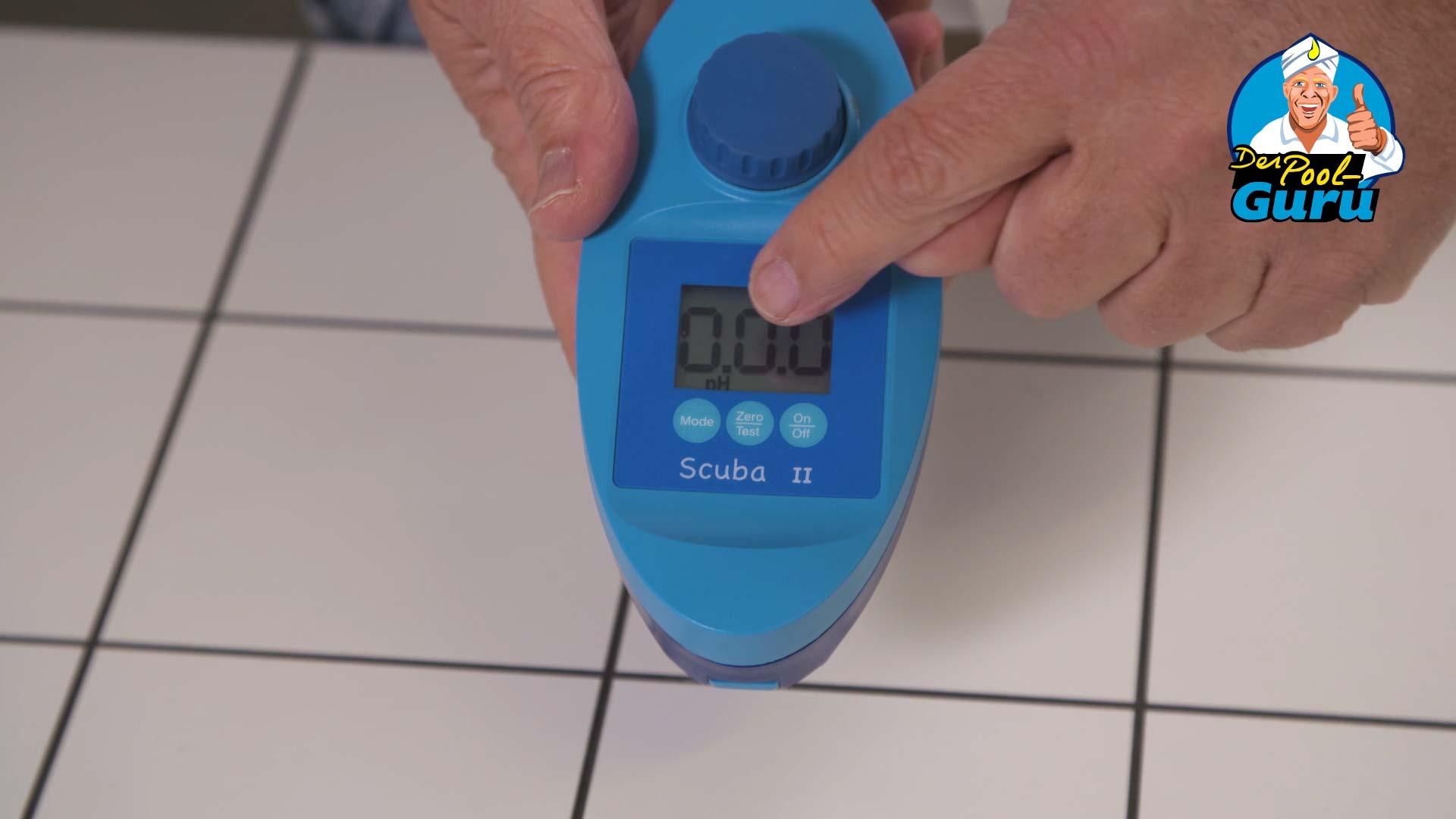 pH-Wert Messgerät mit Anzeige