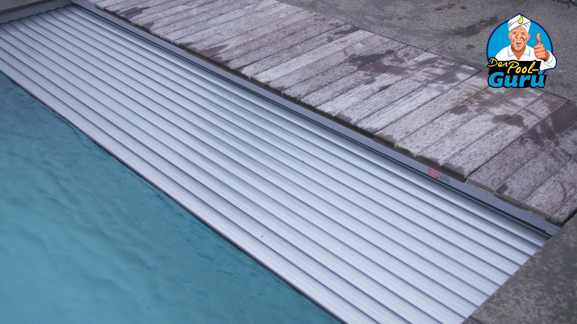 Schwimmbadabdeckung Poolabdeckung elektrisch